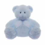 Plush Blue Teddy Bear