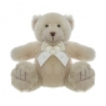 Plush Beige Teddy Bear
